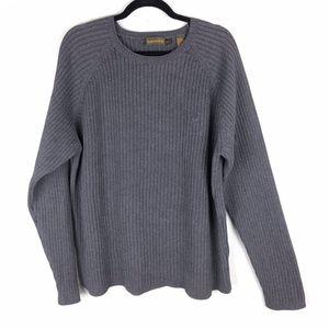 Timberland Men's Gray Ribbed Sweater XL